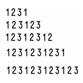 Numerador Manual 9