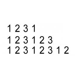 Numerador Manual 12